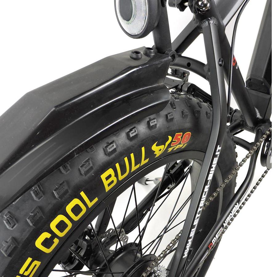 dme bike Fat-Bike Bicicletta Elettrica a Pedalata Assistita 26 250W Kaivan Nera